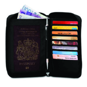 Pacsafe RFID blocking LX150 Travel wallet