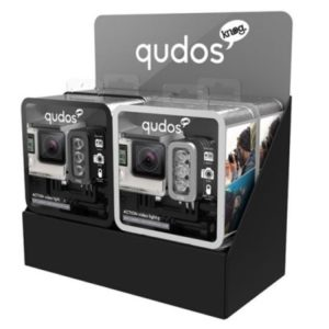 Knog Qudos Action Video Light Black/Silver