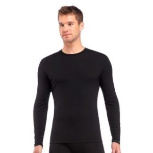Icebreaker Men's Anatomica Long Sleeve Crew Top