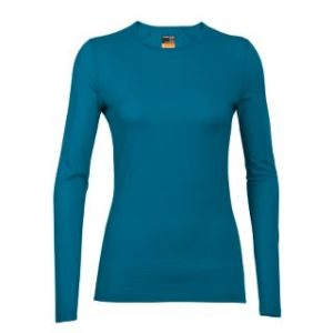 Icebreaker Women's 200 Oasis Long Sleeve Crewe Thermal Top