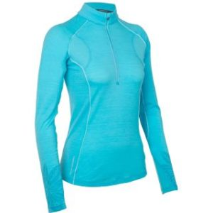 Icebreaker Women's Flash Long Sleeve Half Zip Top