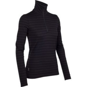Icebreaker Women's 260 Tech Long Sleeve Half Zip Thermal Top