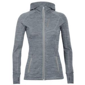 Icebreaker Women's Quantum Long Sleeve Zip Hood Jacket