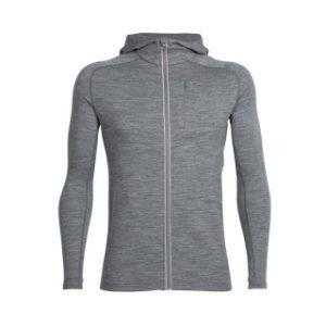 Icebreaker Men's Quantum Long Sleeve Zip Hood Jacket