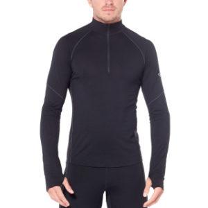 Icebreaker Men's 260 Zone Long Sleeve Half Zip Thermal Top