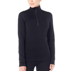 Icebreaker Women's 260 Tech Long Sleeve Half Zip Thermal Top