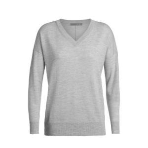 Icebreaker Women's Shearer V Neck Sweater
