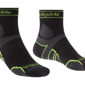 Bridgedale Trail Run Lightweight T2 Merino Sport 3/4 Crew Mens Sock