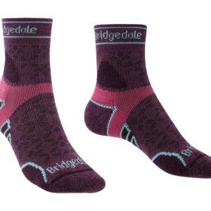 Bridgedale Trail Run Lightweight T2 Merino Sport  3/4 Crew Womens Sock