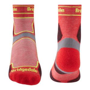 Bridgedale Trail Run Ultra Light T2 Coolmax Sport 3/4 Crew Mens Sock