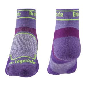 Bridgedale Trail Run Ultra Light T2 Coolmax Sport Low Womes Sock